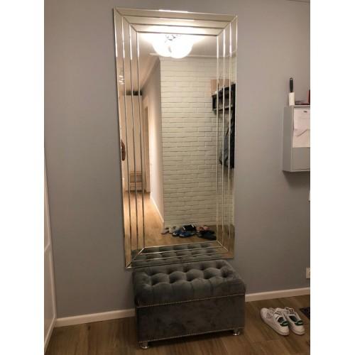 Прямоугольное зеркальные панно на стену